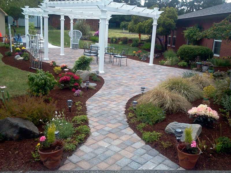Sequim ONA Landscaping Patio & Walkway