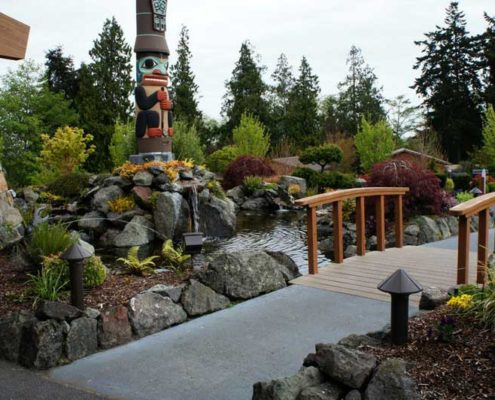 Sequim ONA Landscaping Water Feature