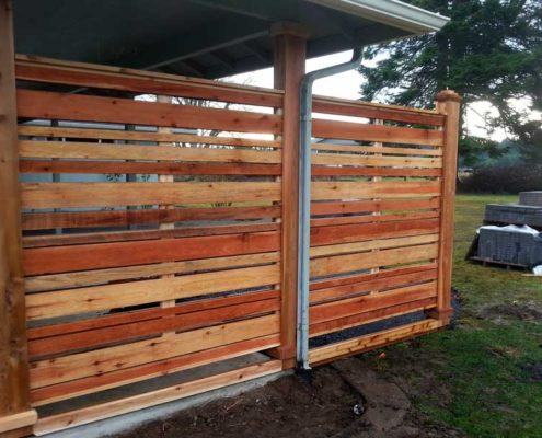 Sequim ONA Landscaping Windscreen