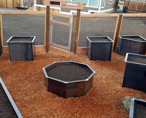 Sequim ONA Landscaping Planters