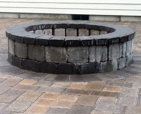 Sequim ONA Landscaping Fire Pit