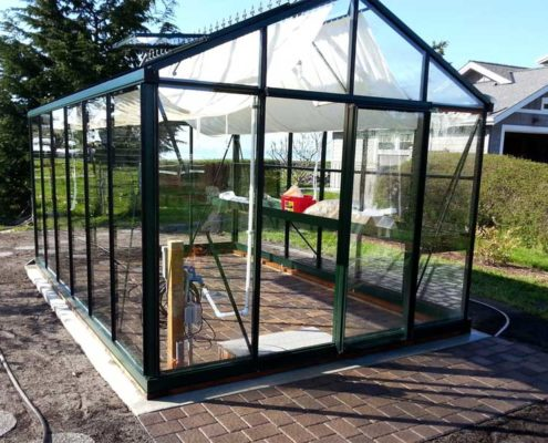 Sequim ONA Landscaping Greenhouse