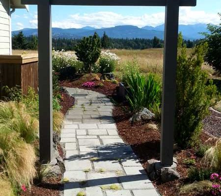 Sequim ONA Landscaping Torii Gate