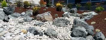 Sequim ONA Landscaping Dry Riverbed