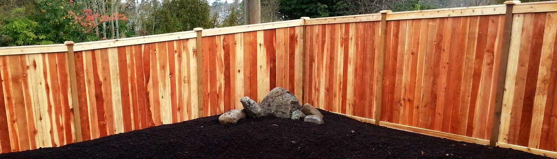 Sequim ONA Landscaping Fence