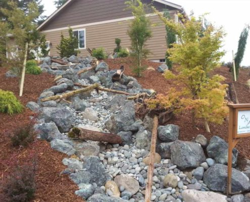 ONA Landscaping Dry Riverbed